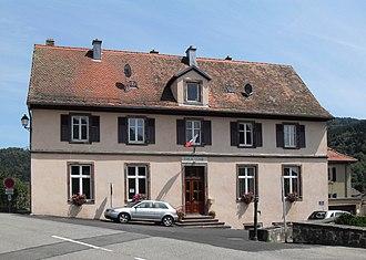 Goldbach-Altenbach - The town hall in Goldbach-Altenbach
