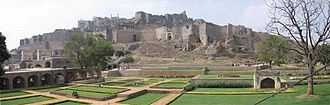 Kilich Khan - The ruins of Golconda fort where Khwaja Abid died fighting and also where such diamonds were found that would make his descendants the richest people in the world