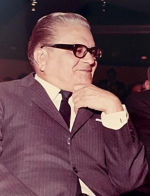 Gonzalo Barrios (politician) - Image: Gonzalo Barrios 1968