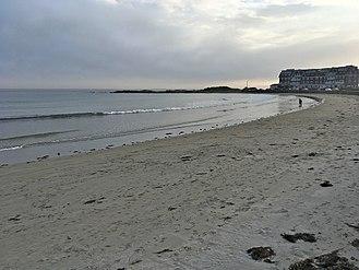 Kennebunk, Maine - Gooch's Beach in 2017