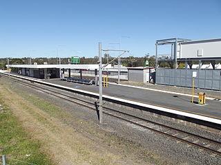 Goodna railway station railway station in Brisbane, Queensland, Australia