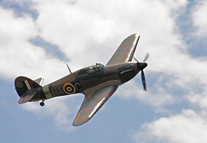 41 Squadron SAAF - Image: Goraszka 2010 Hawker Hurricane (2)
