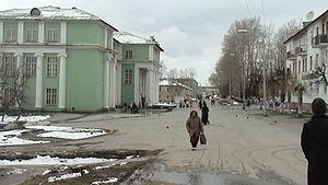 Gornozavodsk, Perm Krai - House of Culture in Gornozavodsk