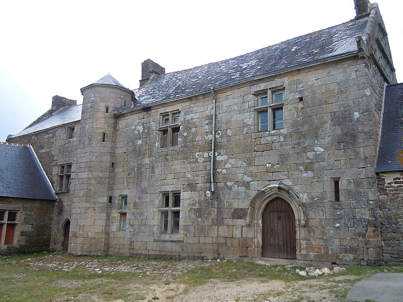 Manoir de Menguionnet, commune de Gourin, département du Morbihan, France
