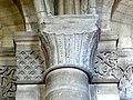 Gournay-en-Bray (76), collégiale St-Hildevert, bas-côté nord, chapiteaux du 2e pilier libre, côté nord.jpg