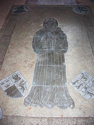 Agnes of Brunswick-Lüneburg - Agnes's grave in Gadebusch City Church