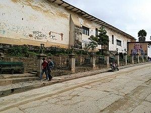 Chachapoyas, Peru - Image: Graffiti al jirón la Unión 02
