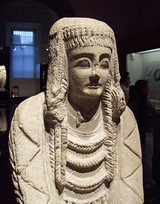 Carthaginian Iberia - Image: Gran Dama Oferente (M.A.N. Madrid) 02