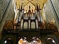 Grand orgue et trompe-l'œil de la cathédrale de Chambéry.JPG