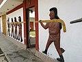 Gravats simulant a la cultura Moche de camí cap al complexe arqueològic del Brujo.jpg