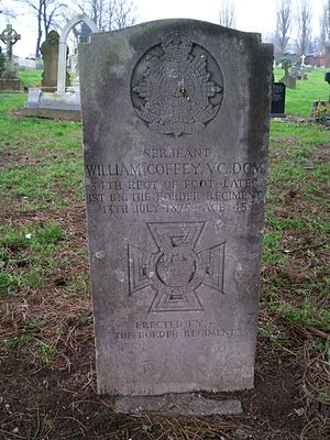 William Coffey - Coffey's gravestone