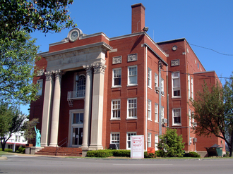 Leitchfield, Kentucky - Grayson County courthouse in Leitchfield