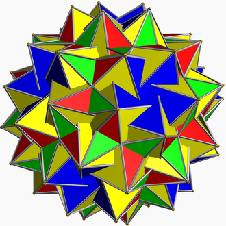 Great dirhombicosidodecahedron - Image: Great snub dodecicosidodecahedr on