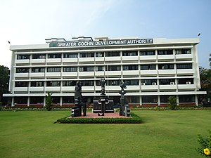 Greater Cochin Development Authority - GCDA headquarters at Kadavanthra, Kochi