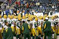 Green Bay Packers players pregame in 2006.jpg