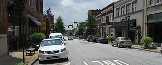 Greer, South Carolina - Downtown Greer