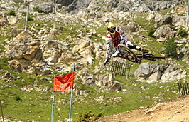 Greg Minnaar at Val d'Isère 2012.jpg