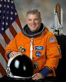 Pilot Gregory H. Johnson, seen here in October 2007. Image: NASA.