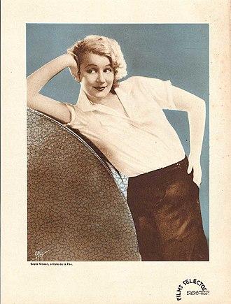 Greta Nissen - Image: Greta Nissen Argentinean Magazine AD 2