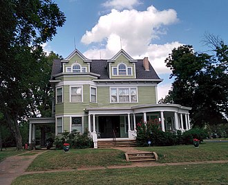 National Register of Historic Places listings in Grady County, Oklahoma - Image: Griffin House Grady Co
