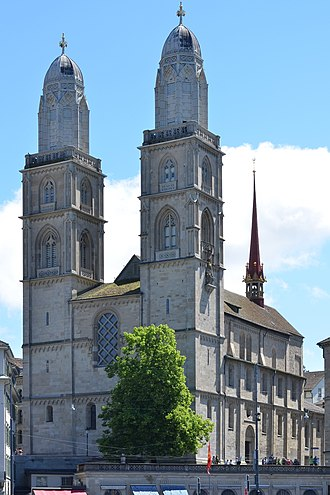 Grossmünster - The Grossmünster