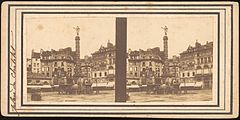 Group of 17 Early Calotype Stereograph Views - Place du Châtelet 2.jpg