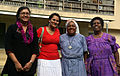 Group shot outside the residential block at the Christian Care Centre. (10699624605).jpg