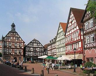 Grünberg, Hesse - Image: Gruenberg markt 1