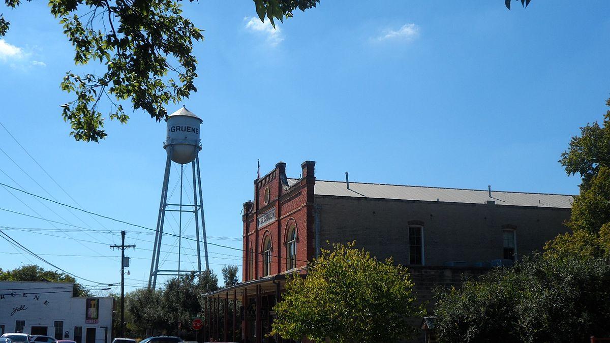 Gruene New Braunfels Texas Wikipedia