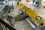 Grumman F3F-2 Flying Barrel, Naval Aviation Museum, Pensacola, Florida.jpg