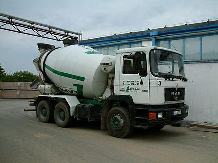 перевозка бетонной смеси автобетоносмесителей