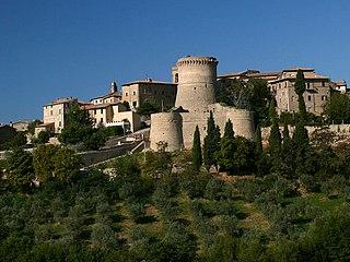 Gualdo Cattaneo Comune in Umbria, Italy