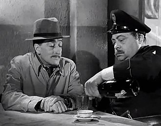 Aldo Fabrizi - Totò and Fabrizi in Cops and Robbers (1951)