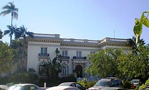homeowner's insurance on LA homes Guasti Villa-Busby Berkeley Estate, 3500 W. Adams Blvd., West Adams, Los Angeles, California