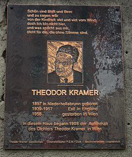 Theodor Kramer Austrian writer