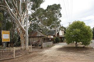 Gundaroo Town in New South Wales, Australia