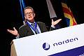 Gunnar Wetterberg talar om en Nordisk forbundsstat under Nordiska Radets session i Reykjavik 2010-11-01 (1).jpg