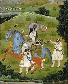 Guru Gobind Singh The tenth and last human Guru of Sikhism