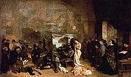Gustave Courbet - The Studio of the Painter - WGA05465.jpg