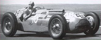 1951 French Grand Prix - Guy Mairesse finished 9th in a Talbot-Lago T26C