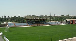Gyumri City Stadium - The main stand