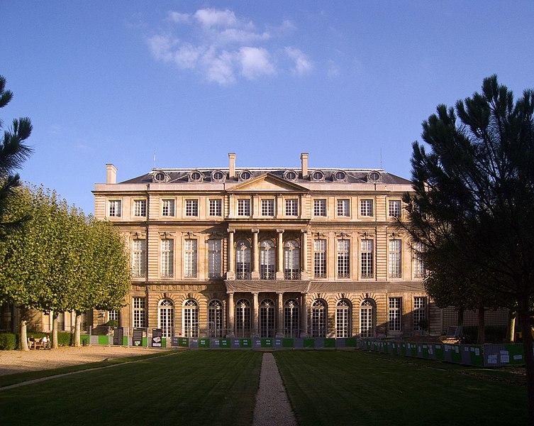 File:Hôtel de Rohan, Paris - View from Garden.jpg