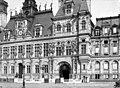 Hôtel de Ville - Façade sur le parvis - Paris 04 - Médiathèque de l'architecture et du patrimoine - APMH00004521.jpg