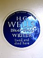H.G. WELLS 1866-1946 WRITER lived and died here.jpg
