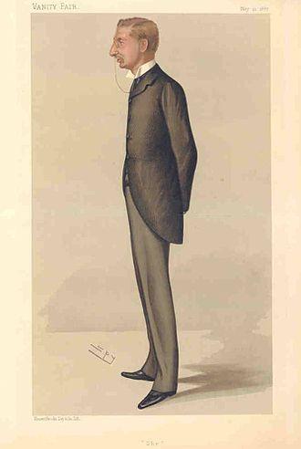 H. Rider Haggard - Vanity Fair, 1887
