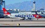 HB-IQI Edelweiss Air 1999 Airbus A330-223 - cn 291 (15294668245).jpg
