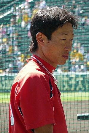 Masato Akamatsu - Akamatsu with the Hiroshima Toyo Carp