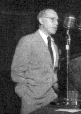 Hermann Joseph Muller - Hermann J. Muller speaking at the 1952 World Science Fiction Convention