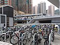 HK TKL 調景嶺 Tiu Keng Leng 翠嶺路 Chui Ling Road 都會駅 MetroTown facade bike parking area December 2018 SSG 22.jpg