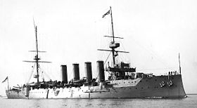 Image illustrative de l'article HMS Devonshire (1904)
